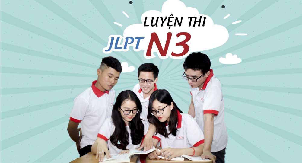 Luyện thi JLPT N3 - Trung tâm nhật ngữ ICHIGO
