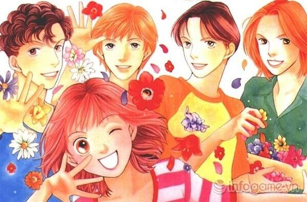 manga romance hay