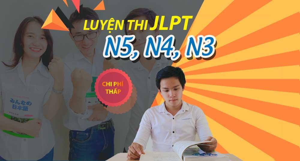 luyện thi n5,n4,n3,n2
