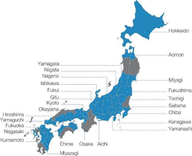 Bản đồ đại học quốc tế tokyo